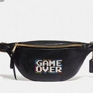 "LIMITED EDITION Coach Belt Bag PAC-MAN ""GAME OVER"""